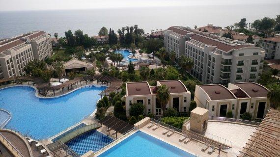 Asm.archyvo nuotr./Viešbutis Turkijoje