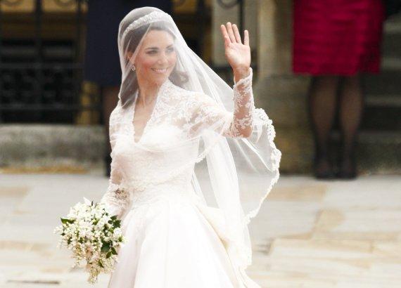 """""""Reuters""""/""""Scanpix"""" nuotr./Kate Middleton vestuvinėje puokštėje taip pat buvo mirtos"""