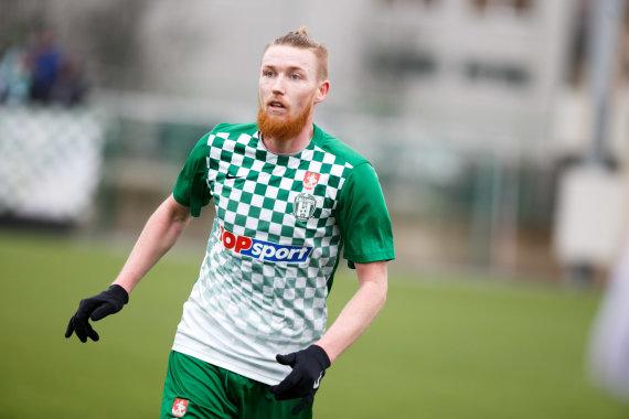 Eriko Ovčarenko / 15min nuotr./Linas Pilibaitis sudarė sutartį su Kauno klubu.