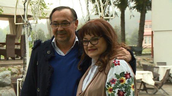 LNK nuotr. /Birutė Petrikytė su vyru