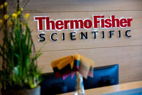 """Vidmanto Balkūno / 15min nuotr./""""Thermo Fisher Scientific Baltics"""""""