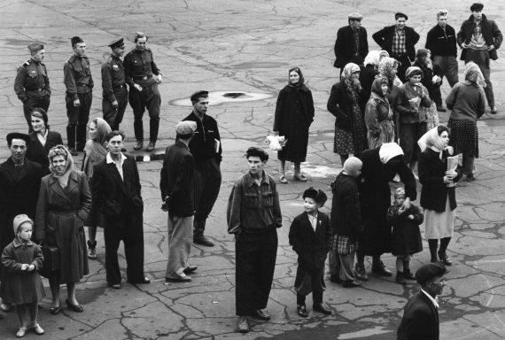 """""""Scanpix"""" nuotr./Žmonės Nachodkoje, Rusijoje (1964 m.)"""