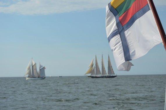 "Akvilės Bertulės nuotr./""The Tall Ships Races"" regata"