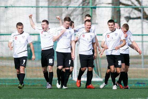 """Eriko Ovčarenko/15min.lt nuotr./""""Stumbro"""" futbolininkai"""