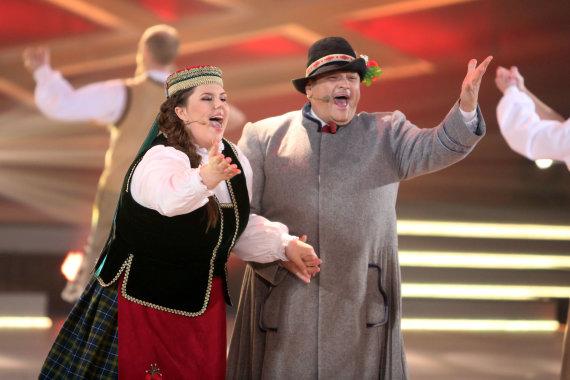 Teodoro Biliūno/Žmonės.lt nuotr./Vitalijus Cololo su dukra Evita