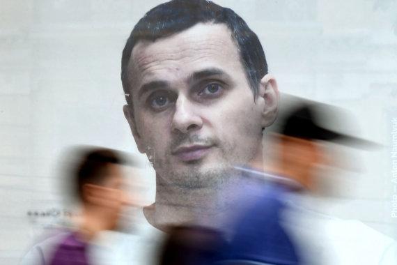 "AFP/""Scanpix"" nuotr./Olehas Sencovas"
