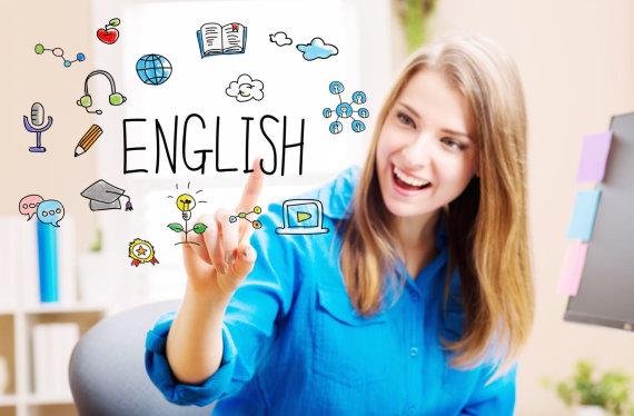 123rf.com /Anglų kalbos pamokos