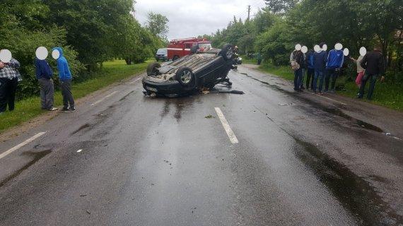 Kauno apskrities VPK nuotr./Įvykio vietoje