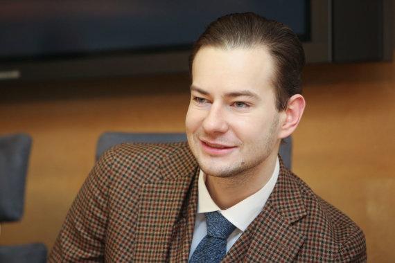 Vidmanto Balkūno / 15min nuotr./ Pagalbos onkologiniams ligoniams asociacijos prezidentas Šarūnas Narbutas