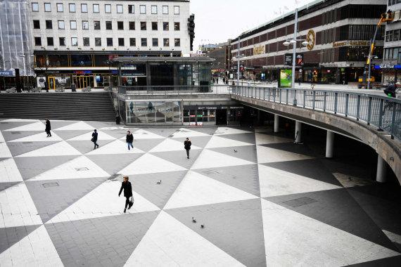 """AFP/""""Scanpix"""" nuotr./Švedijoje suvaržymų gerokai mažiau nei Lietuvoje"""