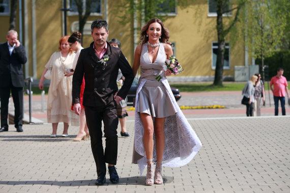 Alaulio Koroliovas Picture / 15 minutes / Spartak Stiklickienė and Andrius Žemaitis marriage ceremony
