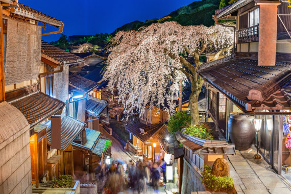 123rf.com nuotr./Kiotas, Japonija