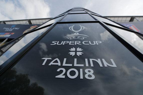 """Reuters""/""Scanpix"" nuotr./Talinas pasitinka UEFA Supertaurės rungtynes"
