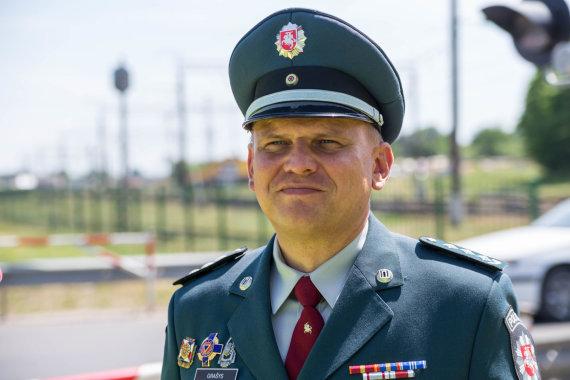 Svajūno Stroino nuotr./Vytautas Grašys, Lietuvos kelių policijos tarnybos viršininkas
