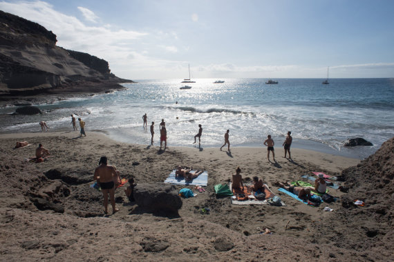 Alfredo Pliadžio nuotr./La Caleta paplūdimys
