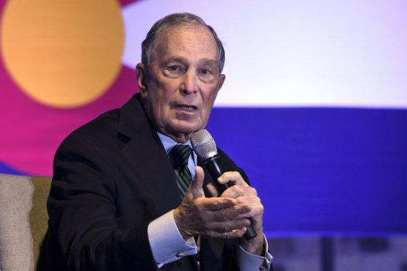 """Scanpix""/AP nuotr./Michaelas Bloombergas"