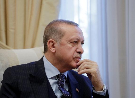 """""""Reuters""""/""""Scanpix"""" nuotr./Recepas Tayyipas Erdoganas Graikijoje"""
