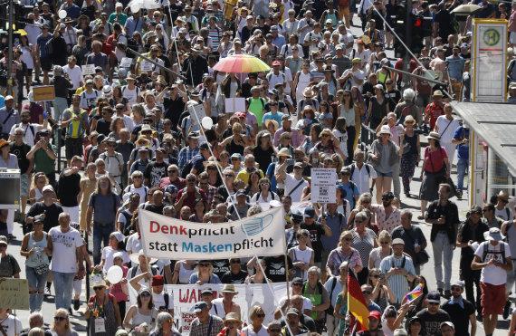 """Scanpix"" nuotr./Protestas Berlyne"