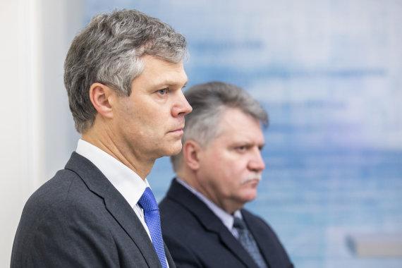 Luko Balandžio / 15min nuotr./Vytautas Jonas Žukas, Darius Jauniškis