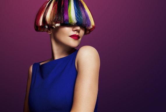 Fotolia nuotr./Dažyti plaukai