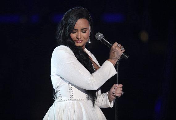 """Scanpix""/AP nuotr./Demi Lovato"