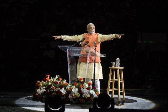 """Reuters""/""Scanpix"" nuotr./Indijos ministras pirmininkas Narendra Modi"