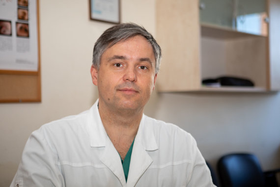 Mariaus Vizbaro / 15min nuotr./Prof. dr. Andrius Macas