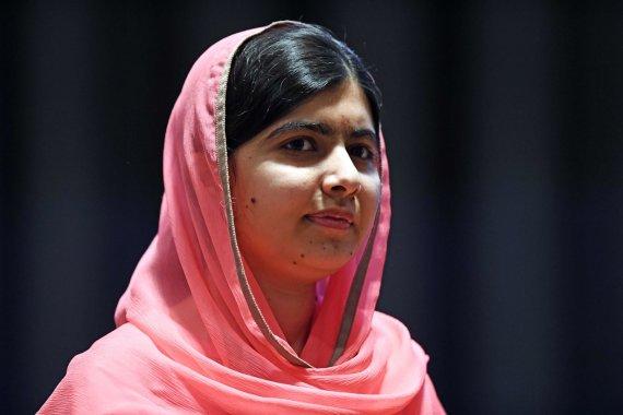 "AFP/""Scanpix"" nuotr./Malala Yousafzai"