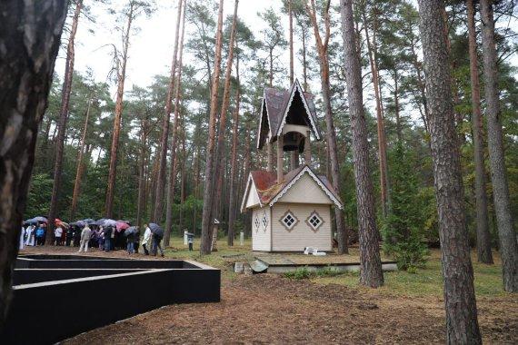 Kauno rajono savivaldybės nuotr./Prasidėjo Kulautuvos bažnyčios statybos
