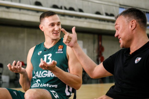 Eriko Ovčarenko / 15min nuotr./Paulius Jankūnas ir Šarūnas Jasikevičius