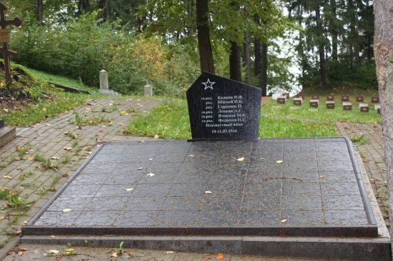 KPD nuotr. / Paminklas Antakalnio kapinėse
