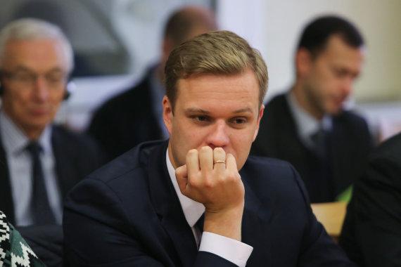 Juliaus Kalinsko / 15min nuotr./Gabrielius Landsbergis 2014 metais