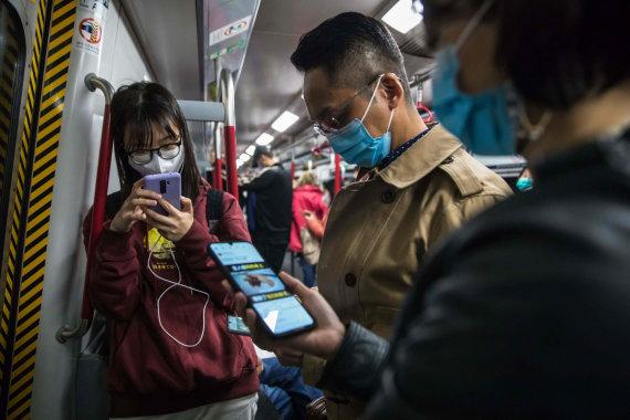 "AFP/""Scanpix"" nuotr./Honkongas"