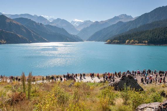 """""""Shutterstock"""" nuotr./Dangaus ežeras, Kinija"""