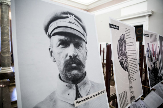 Juliaus Kalinsko / 15min nuotr./Konferencija apie Jozefą Pilsudskį