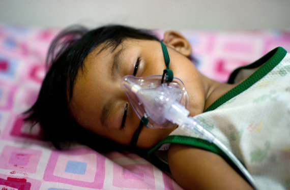 "AFP/""Scanpix"" nuotr./Sergantis vaikas"