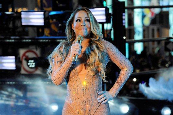 """""""Reuters""""/""""Scanpix"""" nuotr./Mariah Carey Taimso aikštėje"""