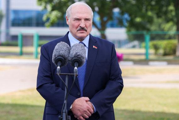 TASS nuotr./Aliaksandras Lukašenka