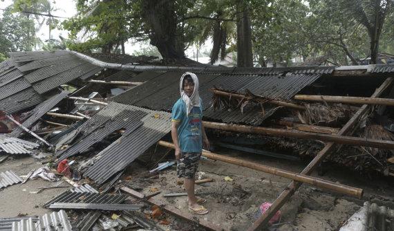 """Scanpix""/AP nuotr./Indonezijai smogė pražūtingas cunamis"