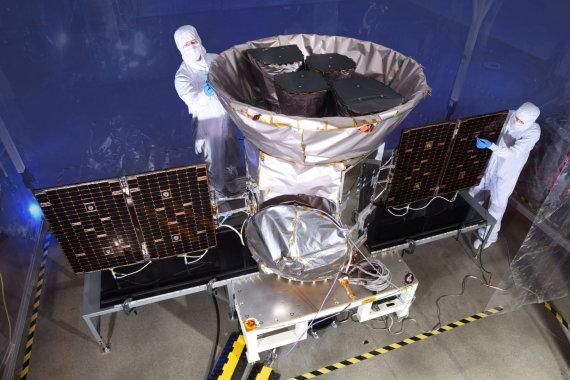 """""""Reuters""""/""""Scanpix"""" nuotr./NASA egzoplanetų medžiotojas TESS"""