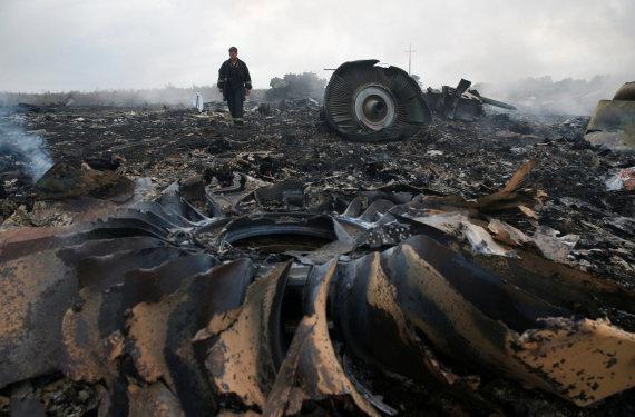 """Reuters""/""Scanpix"" nuotr./Lėktuvo MH17 nuolaužos"