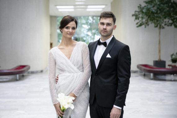 Luko Balandžio / 15min nuotr./Arnas Petronis ir Kamelija Krivickaitė