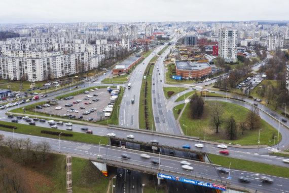Luko Balandžio / 15min nuotr./Ukmergės gatvė Vilniuje