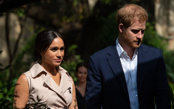"""Scanpix""/""PA Wire""/""Press Association Images"" nuotr./Meghan Markle ir princas Harry"