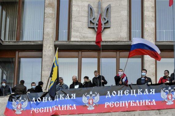 """Reuters""/""Scanpix"" nuotr./Separatistai Donecke"