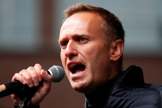 """""""Reuters""""/""""Scanpix"""" nuotr./Aleksejus Navalnas"""