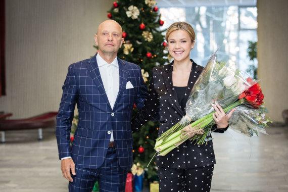 Luko Balandžio / 15min nuotr./Tado Karoso ir Agnės Kavalnytės vestuvių akimirka