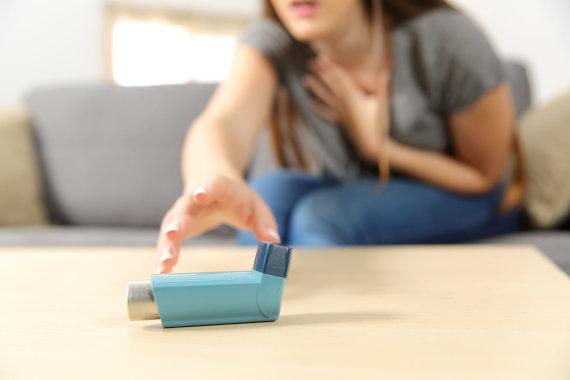 123RF.com nuotr./Bronchinė astma
