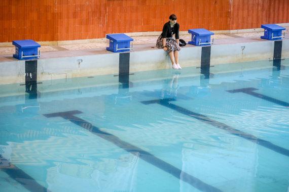 Vidmanto Balkūno / 15min nuotr./Vilniaus Lazdynų baseinas buvo uždarytas ir nugriautas pernai vasarą.