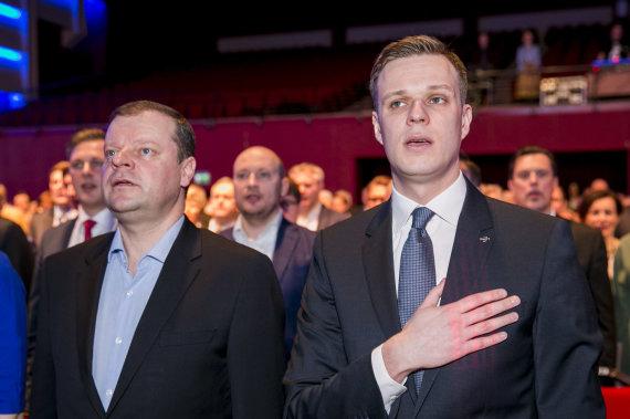 Irmanto Gelūno / 15min nuotr./Tėvynės sąjungos-Lietuvos krikščionių demokratų partijos XXII neeilinis suvažiavimas